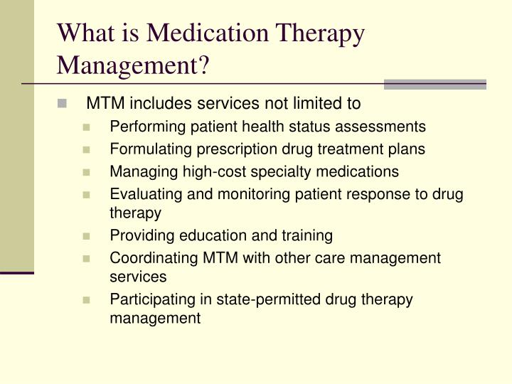What is Medication Therapy Management?