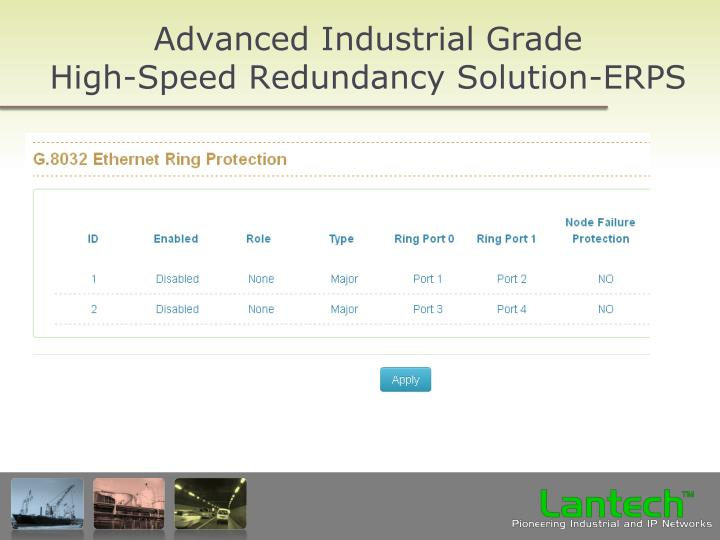 Advanced Industrial Grade