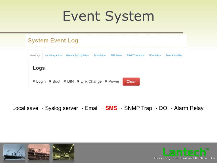 Event System