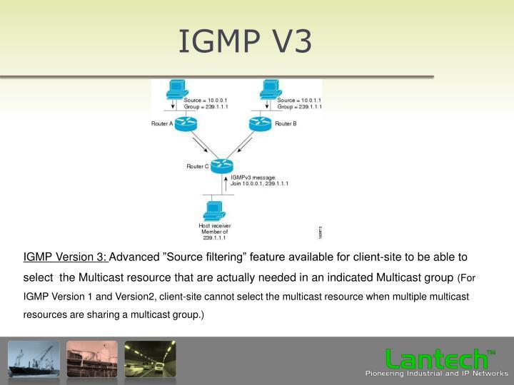 IGMP V3