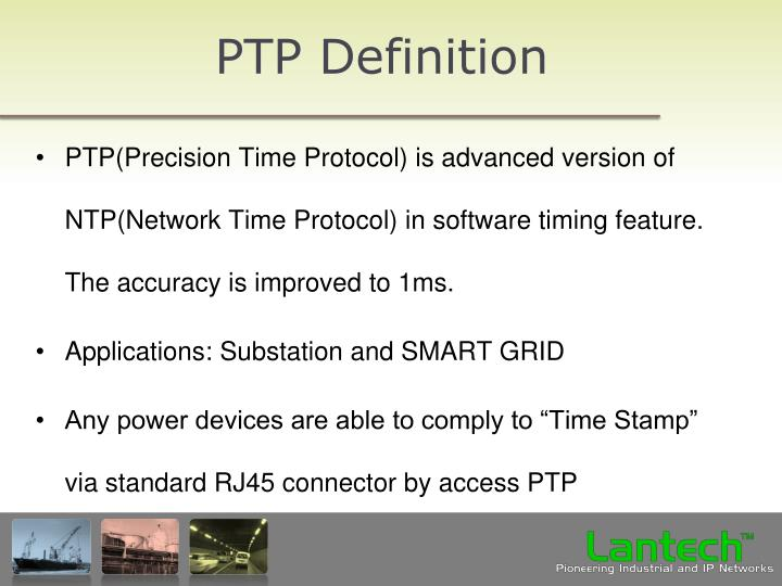 PTP Definition