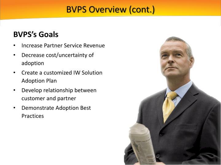 BVPS Overview (cont.)