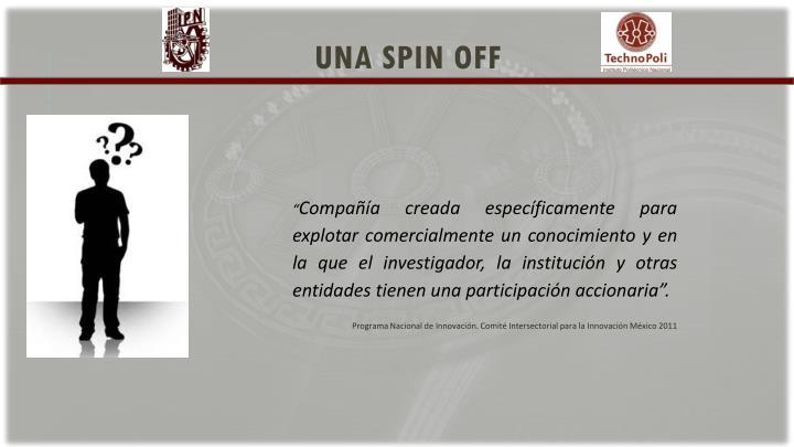 una spin off