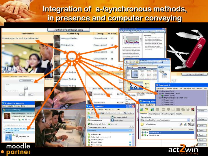 Integration of  a-/synchronous methods,