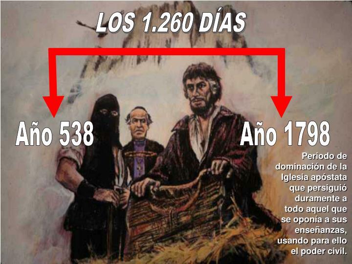 LOS 1.260 DÍAS
