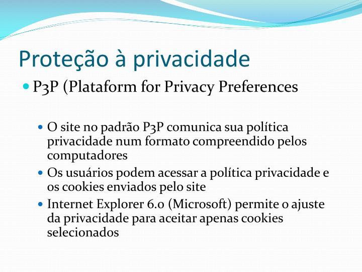 Proteção à privacidade