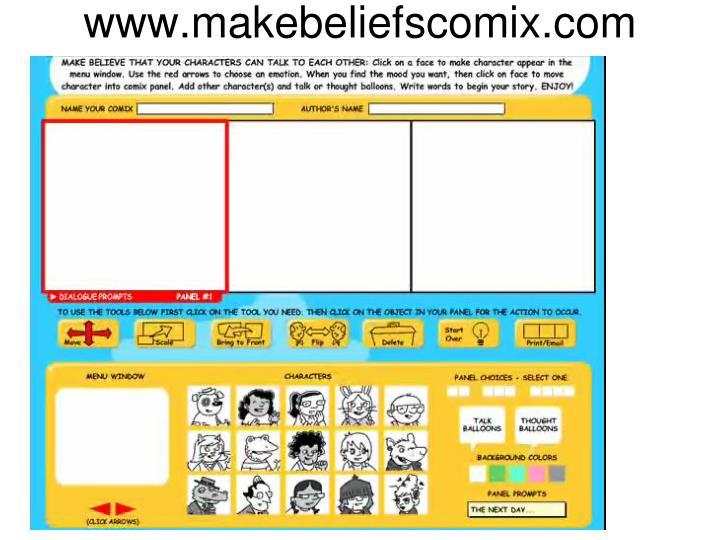www.makebeliefscomix.com