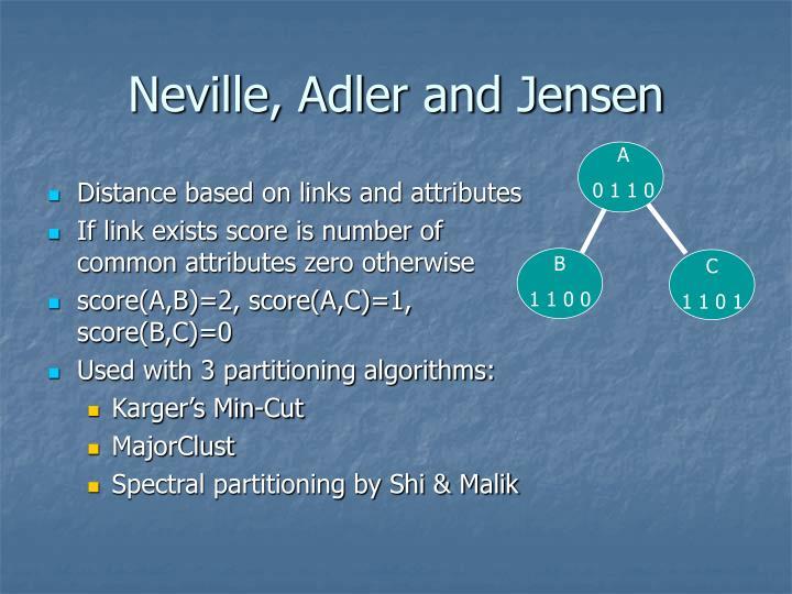 Neville, Adler and Jensen
