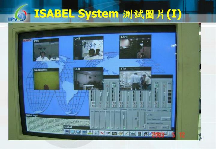 ISABEL System