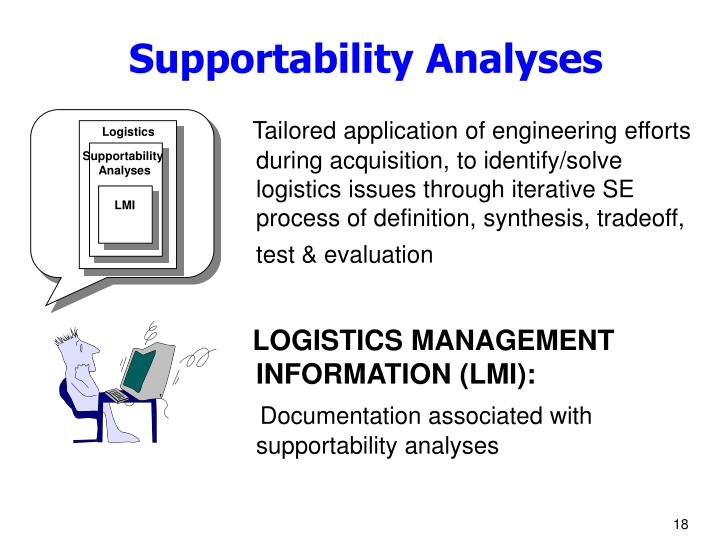 Supportability Analyses
