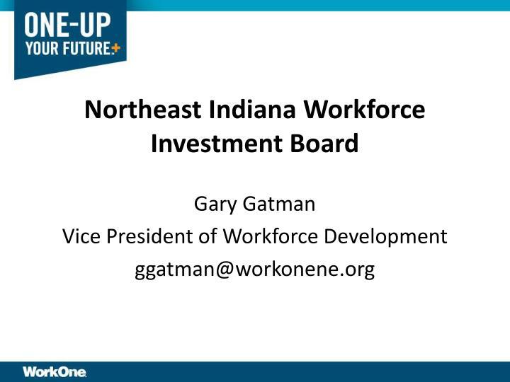 Northeast Indiana Workforce Investment Board