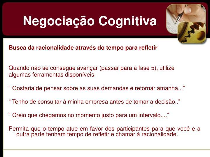 Negociação Cognitiva