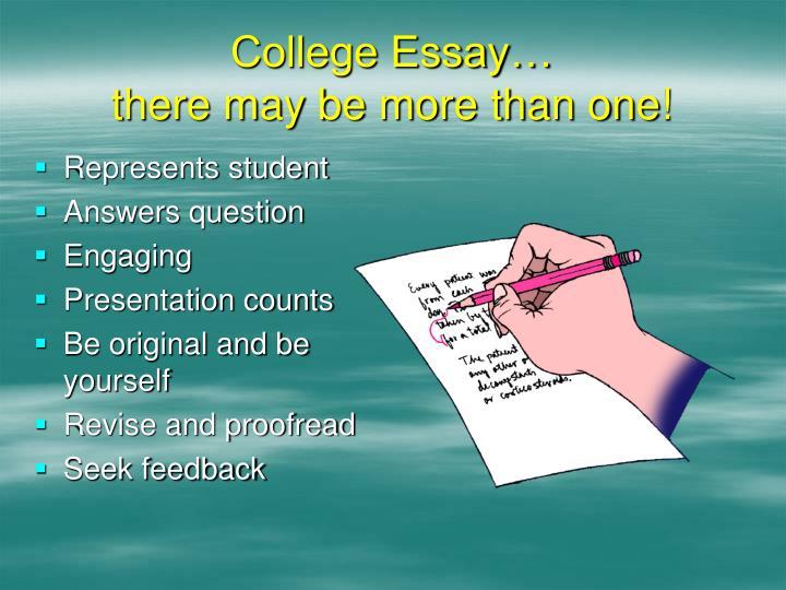 College Essay…