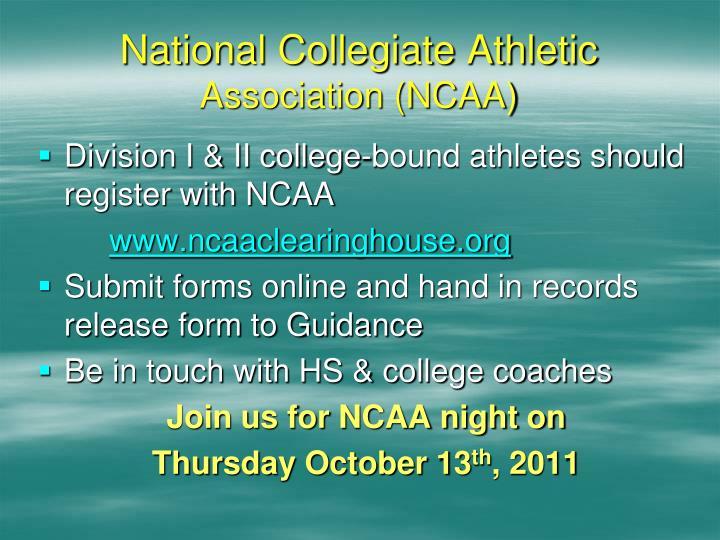 National Collegiate Athletic