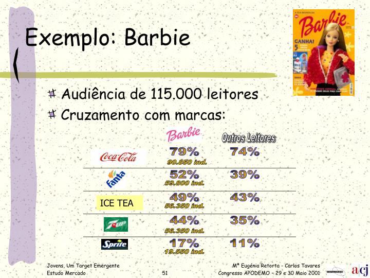 Exemplo: Barbie