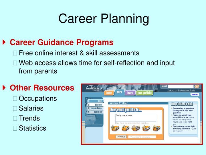 Career Planning
