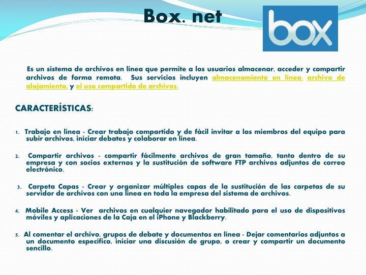 Box. net
