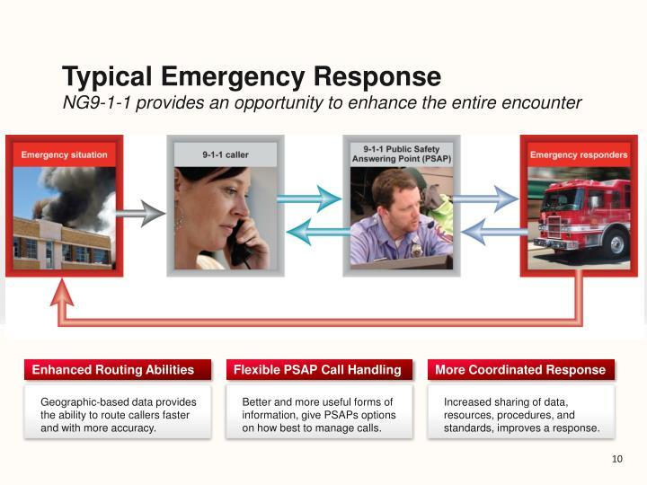 Typical Emergency Response