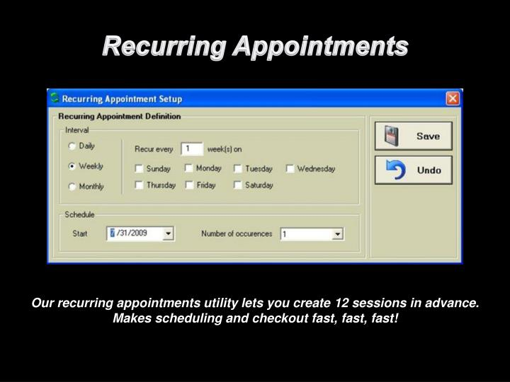 Recurring Appointments