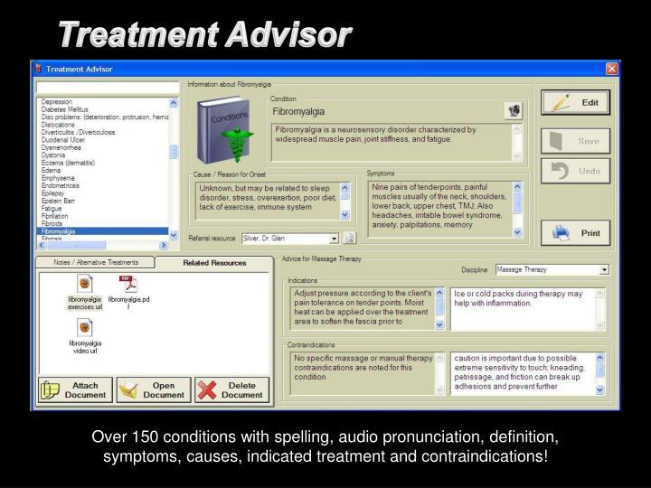 Treatment Advisor