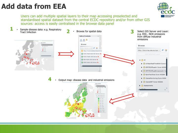 Add data from EEA