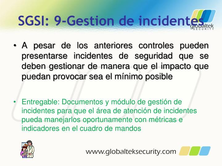 SGSI: 9-Gestion de incidentes