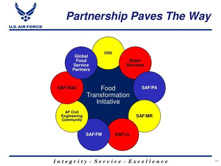 Partnership Paves The Way