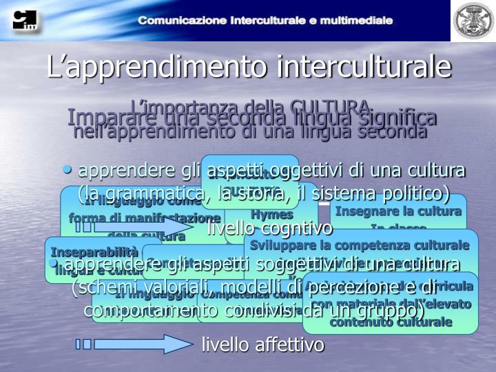L'apprendimento interculturale