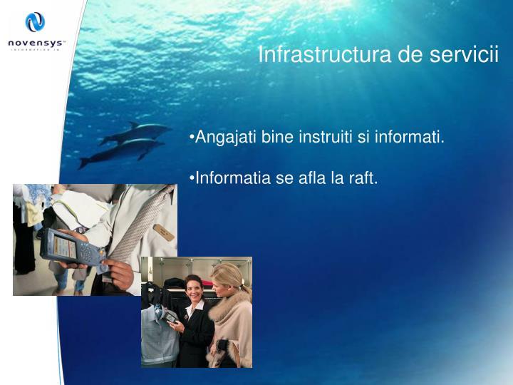 Infrastructura de servicii