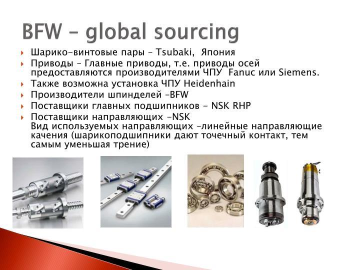BFW – global sourcing
