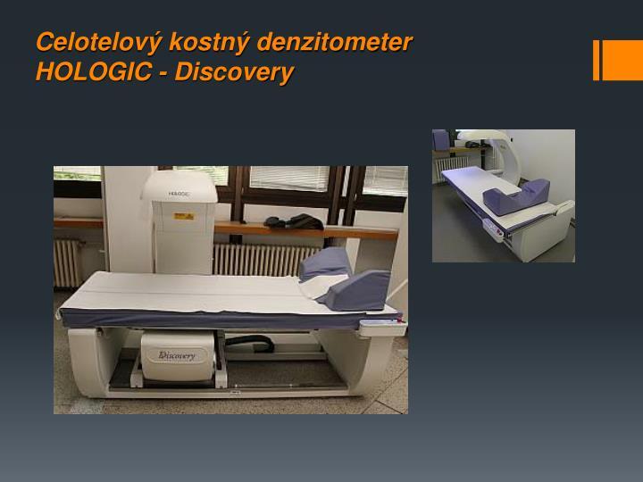 Celotelový kostný denzitometer