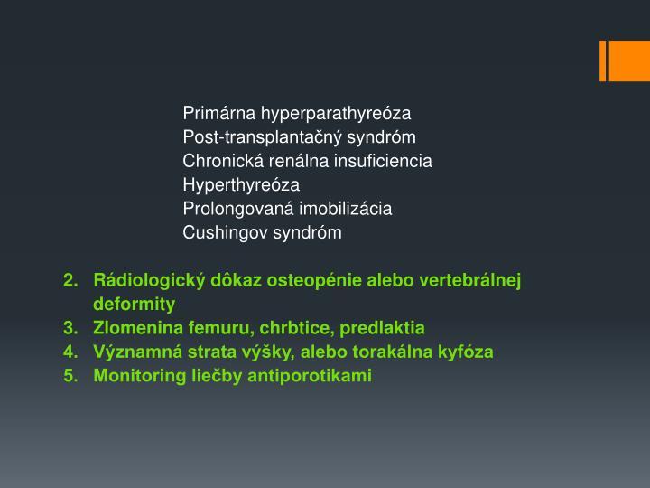 Primárna hyperparathyreóza