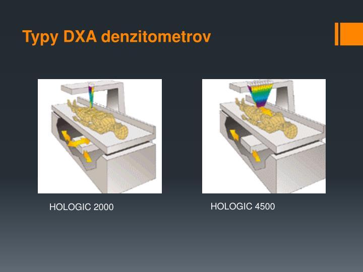 Typy DXA denzitometrov