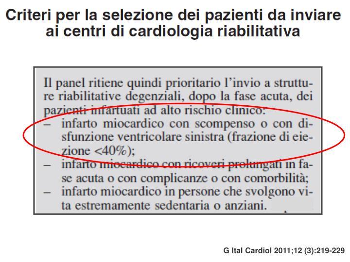 G Ital Cardiol 2011;12 (3):219-229