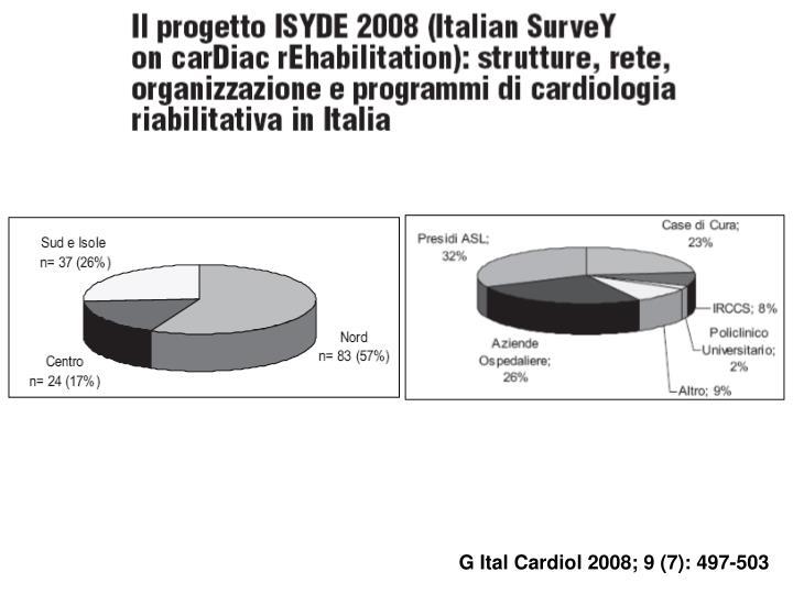 G Ital Cardiol 2008; 9 (7): 497-503
