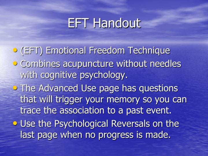 EFT Handout