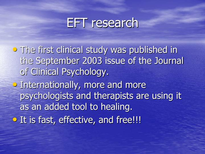 EFT research