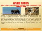 odoin tours india travel agent golden triangle india tailormade tour packages india