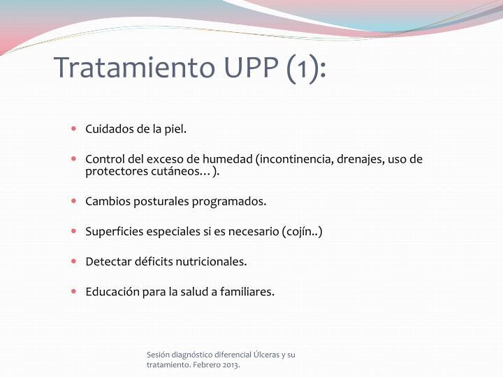Tratamiento UPP (1):