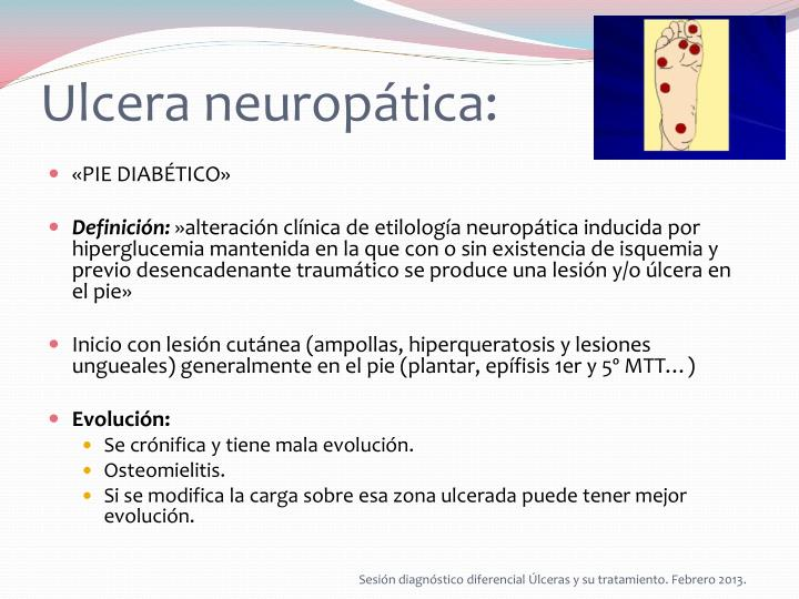 Ulcera neuropática: