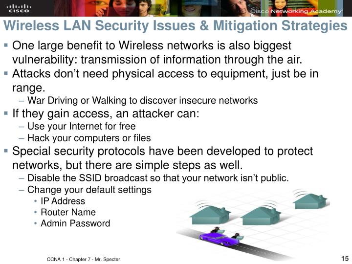 Wireless LAN Security Issues & Mitigation Strategies