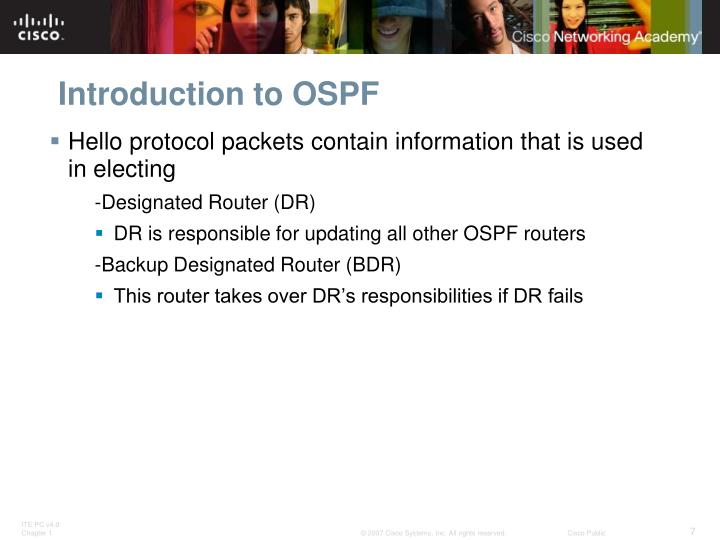 Introduction to OSPF