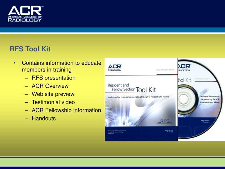 RFS Tool Kit