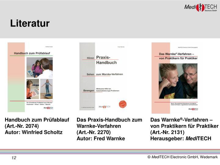 Das Praxis-Handbuch zum Warnke-Verfahren