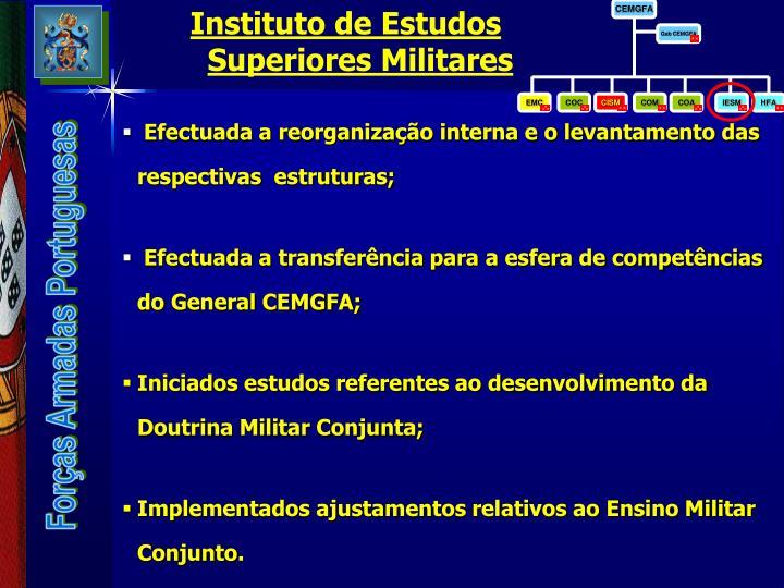 Instituto de Estudos Superiores Militares