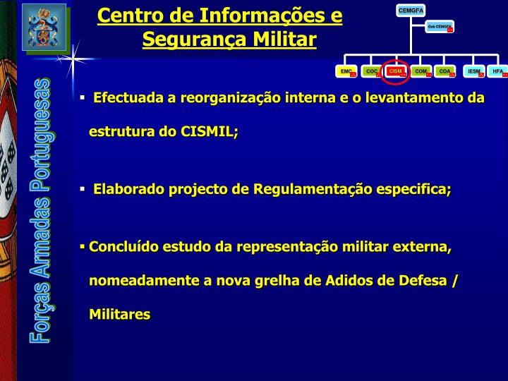 Centro de Informações e Segurança Militar
