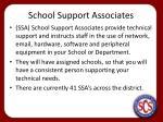 school support associates
