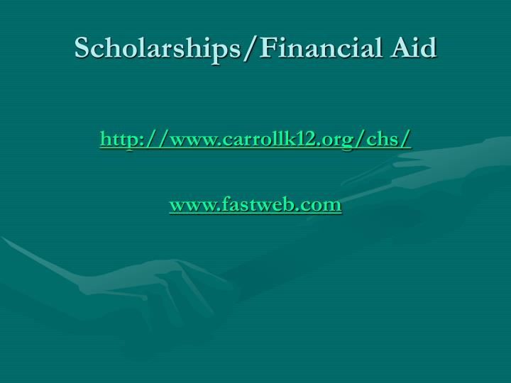 Scholarships/Financial Aid