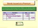 bonds issued at a premium5