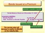 bonds issued at a premium6